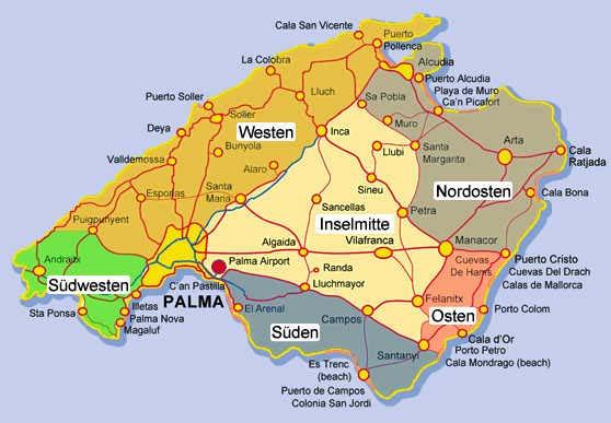 Malediven Traum Artikel Karte Mallorca Fotos Vom Osten Der Insel